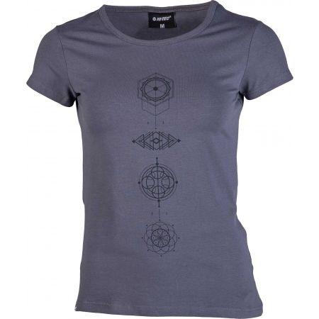 Dámské stylové triko - Hi-Tec LADY ARIA - 1