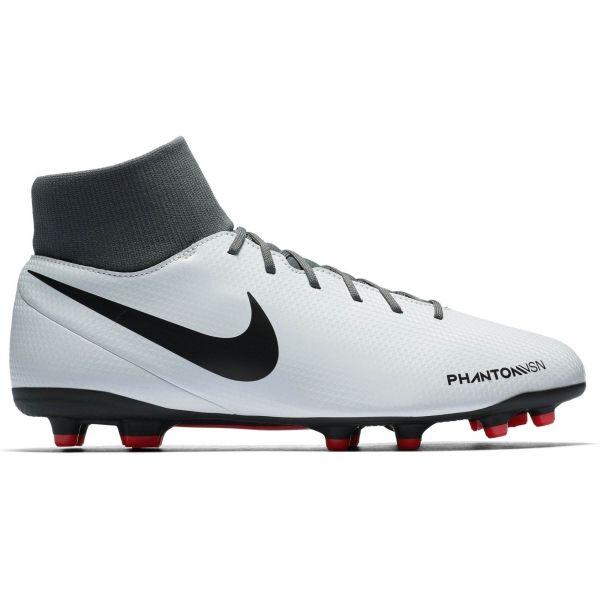 Nike PHANTOM VISION CLUB DYNAMIC FIT FG bílá 10.5 - Pánské lisovky