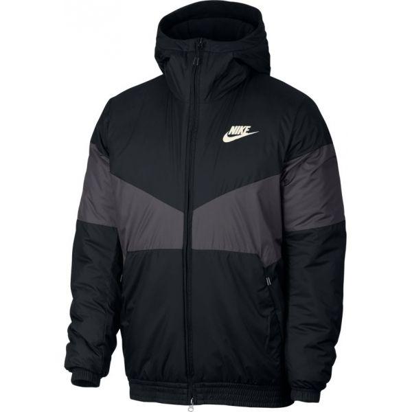 Nike NSW SYN FILL JKT HD čierna XXL - Pánska  zateplená bunda
