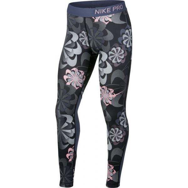 Nike NP TIGHT AOP1 G fekete S - Gyerek legging