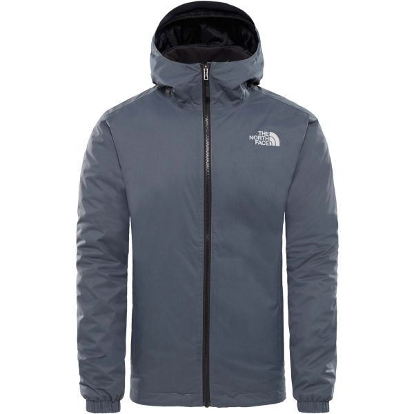 The North Face QUEST INSULATED JACKET M tmavo sivá XL - Pánska zateplená bunda