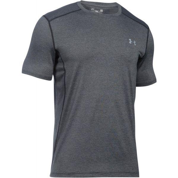 Under Armour RAID SS TEE szary XL - Koszulka męska