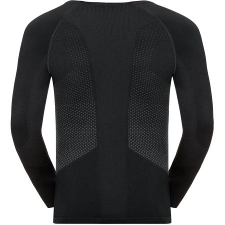 Tricou funcțional bărbați - Odlo SHIRT L/S SEAMLESS WARM TOP - 2