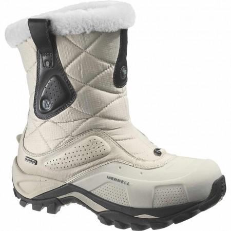 Outdoorové zimné topánky - Merrell WHITEOUT MID NYLON WTPF - 1 6006e208296
