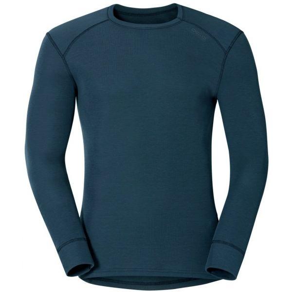 Odlo MEN ACTIVE L/S WARM sivá S - Pánske funkčné tričko