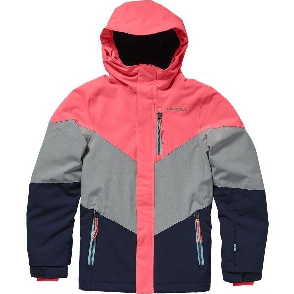 O'Neill PG CORAL JACKET - Dievčenská lyžiarska/snowboardová bunda