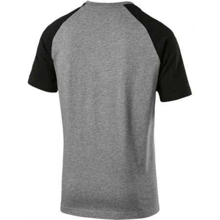 Pánske tričko - Puma ESS RAGLAN SS TEE - 2