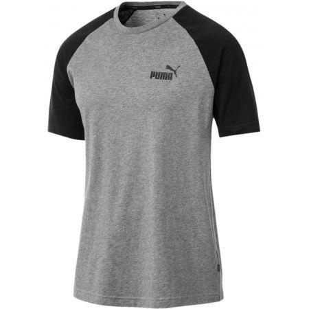 Pánske tričko - Puma ESS RAGLAN SS TEE - 1
