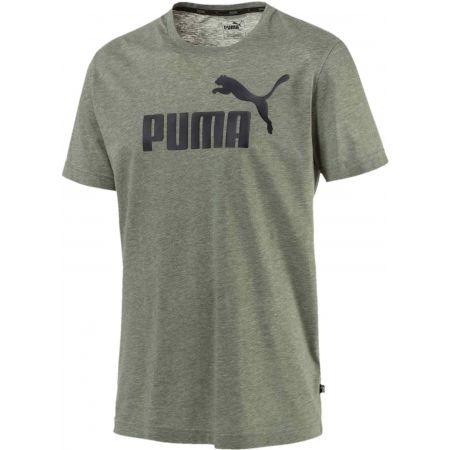 Men's T-shirt - Puma ELEVATED ESS TEE HEATHER - 1