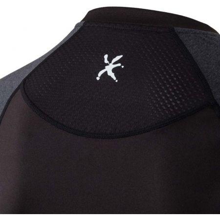 Pánské běžecké tričko s dlouhým rukávem - Klimatex SVEN - 5