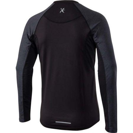 Pánské běžecké tričko s dlouhým rukávem - Klimatex SVEN - 2