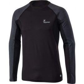 Klimatex SVEN - Tricou de alergare bărbați cu mâneci lungi