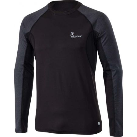Klimatex SVEN - Men's long sleeve running T-shirt