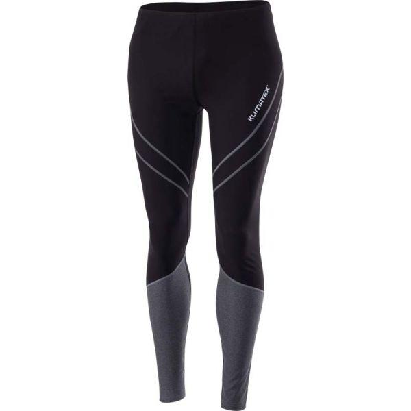 Klimatex PETAR czarny XL - Legginsy do biegania męskie