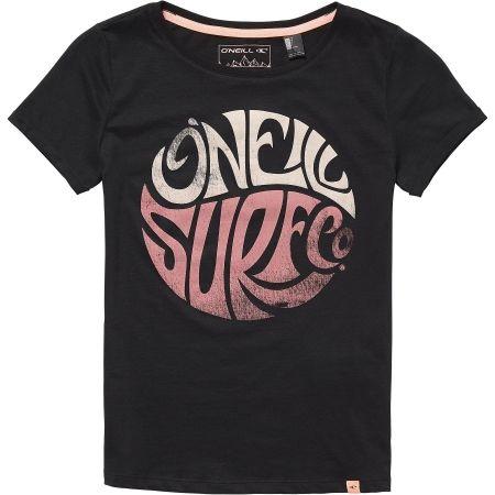 Dívčí tričko - O'Neill LG EXPLORE LIFE S/SLV T-SHIRT - 1
