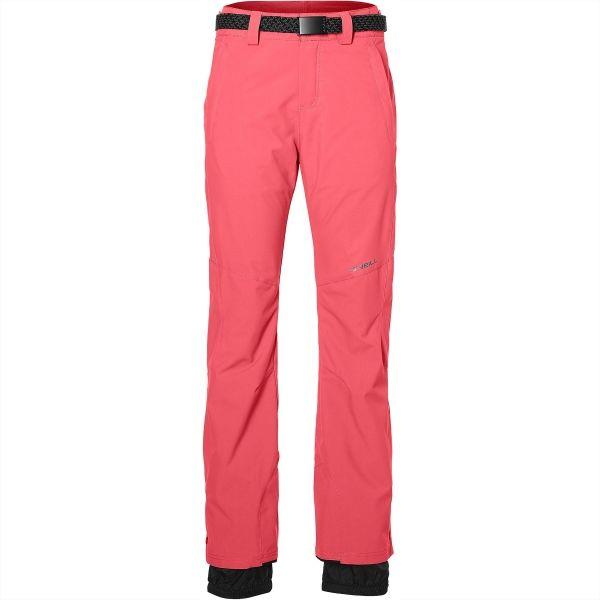 O'Neill PW STAR PANTS SLIM ružová XL - Dámske lyžiarske/snowboardové nohavice