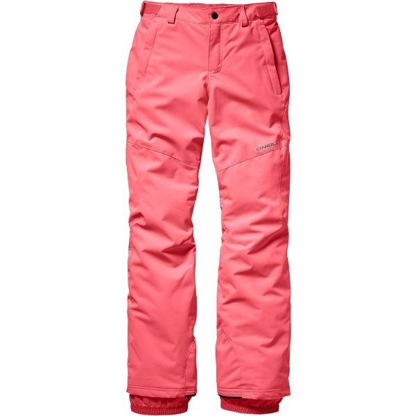 O'Neill PG CHARM PANTS ružová 164 - Dievčenské lyžiarske/snowboardové nohavice