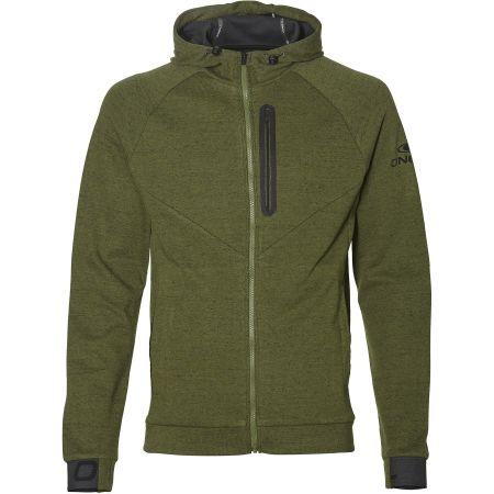 Hanorac fleece pentru bărbați - O'Neill PM 2-FACE HYBRID FLEECE - 1