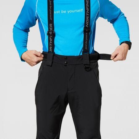 Pánské softshellové kalhoty - Northfinder ISHAAN - 6