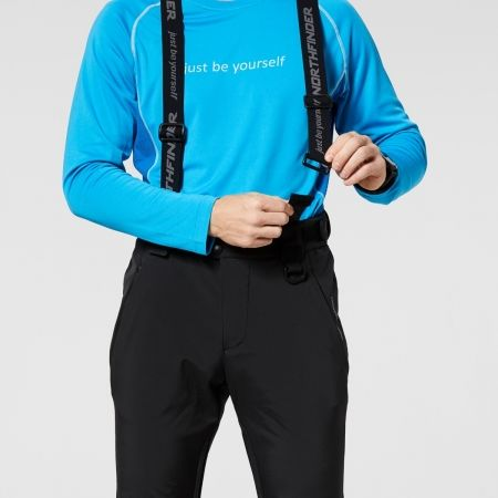 Pánské softshellové kalhoty - Northfinder ISHAAN - 7