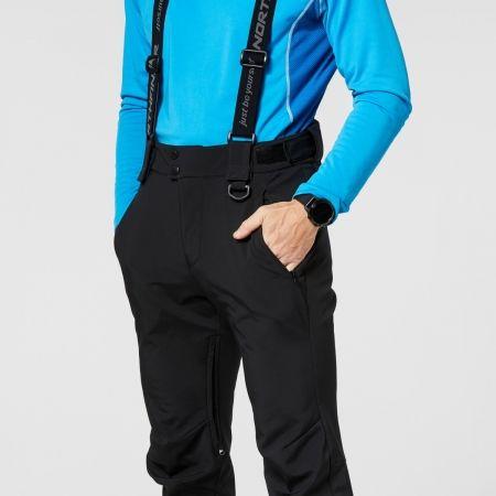 Pánské softshellové kalhoty - Northfinder ISHAAN - 8