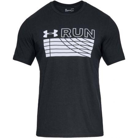 Tricou alergare bărbați - Under Armour RUN TRACK GRAPHIC - 1