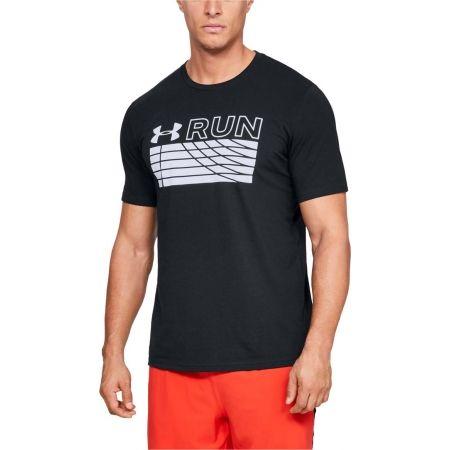 Tricou alergare bărbați - Under Armour RUN TRACK GRAPHIC - 4