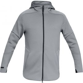 Under Armour MOVE AIRGAP FZ HOOD - Pánska mikina