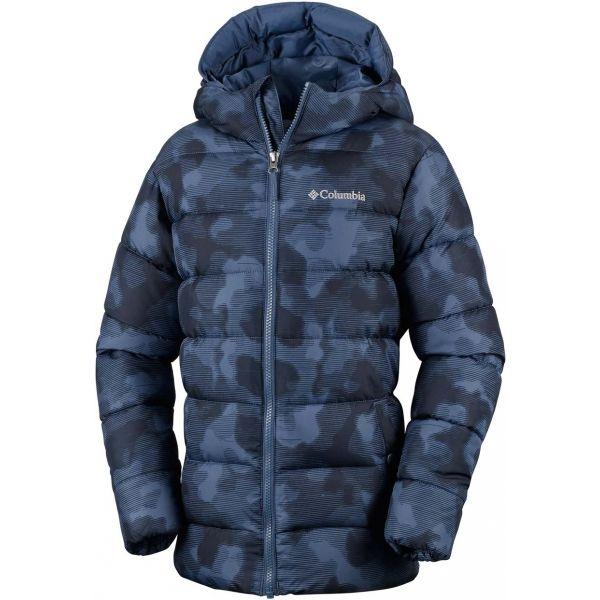 Columbia THE BIG PUFF JACKET sötétkék XL - Gyerek kabát