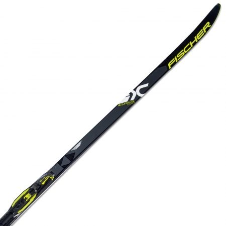 Běžecké lyže na klasiku - Fischer SUPERLITE CROWN EF + CONTROL - 1