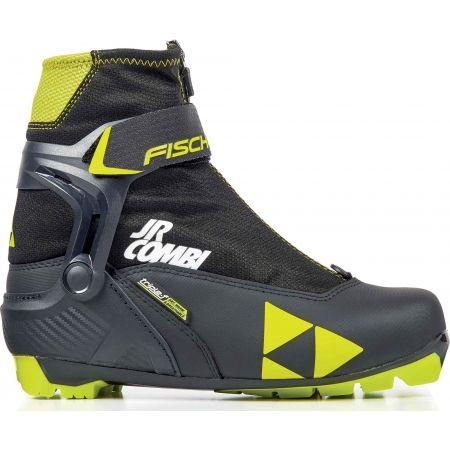Clăpari combi de ski fond juniori - Fischer JR COMBI - 1