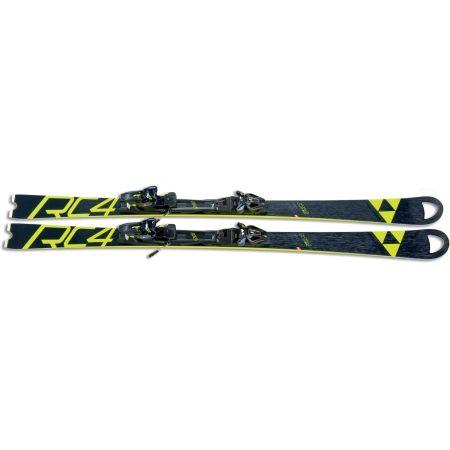 Zjazdové lyže - Fischer RC4 WC SC RT YELLOW BASE + RC4 Z12 PR - 2