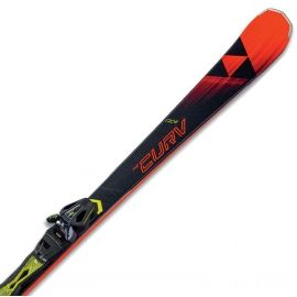 Fischer RC4 THE CURV TI AR + RC4 Z11 PR - Downhill skis