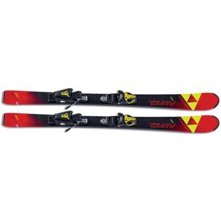 Skiuri de coborâre juniori - Fischer THE CURV JR SLR + FJ7 AC RAIL - 2