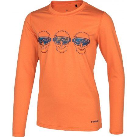 Tricou cu mâneci lungi copii - Head FRANKIE - 1