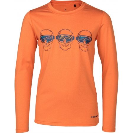 Tricou cu mâneci lungi copii - Head FRANKIE - 2