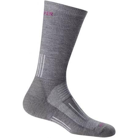 Dámské trekingové ponožky - Icebreaker HIKE MEDIUM CREW - 1