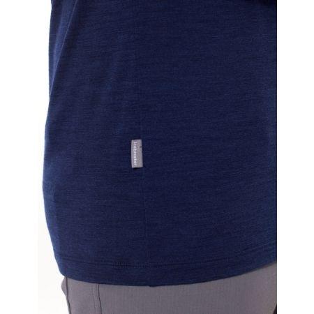 Pánske tričko - Icebreaker SPECTOR LS CREWE ASCENT STRIPE - 6