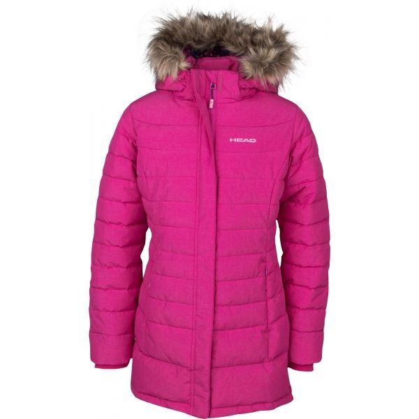 Head LEXI růžová 140-146 - Dívčí zimní kabát