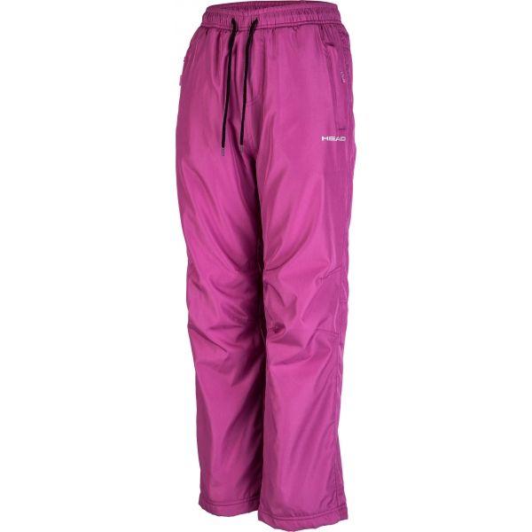 Head ALEC ružová 116-122 - Detské zimné nohavice