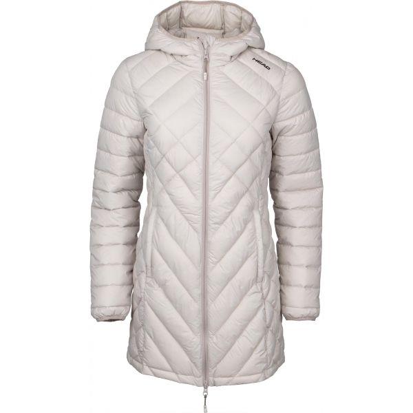 Head ADELA béžová XXL - Dámský zimní kabát