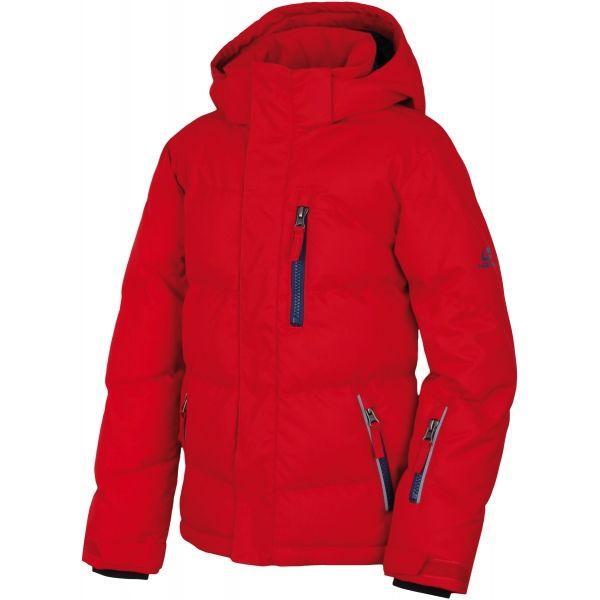 Hannah DUFFY JR II červená 140 - Dětská lyžařská bunda