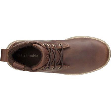 Pánská vycházková obuv - Columbia IRVINGTON II CHUKKA LTR WP - 2