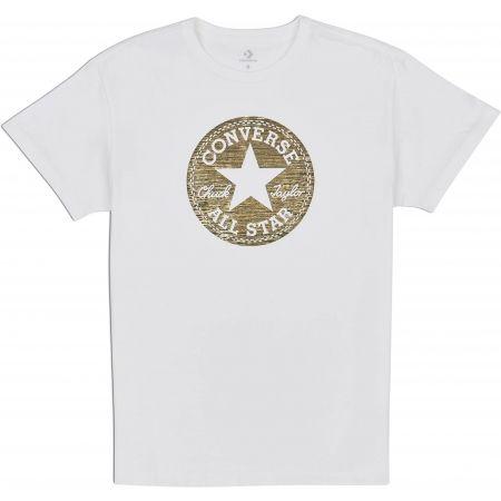 Tricou damă - Converse PRECIOUS METAL CHUCK PATCH EASY CREW TEE - 1