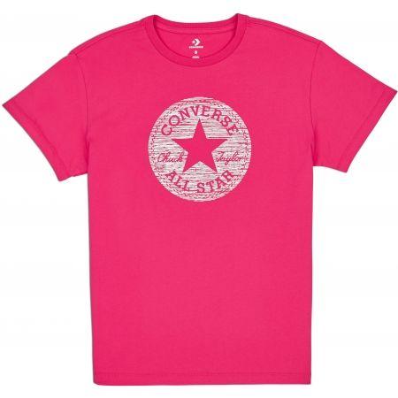 Tricou damă - Converse PRECIOUS METAL CHUCK PATCH EASY CREW TEE - 2