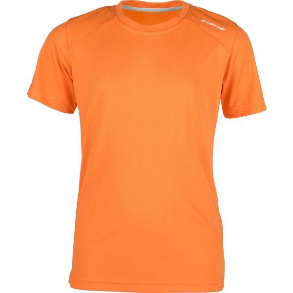 Lotto MORIS oranžová 140-146 - Chlapecké triko