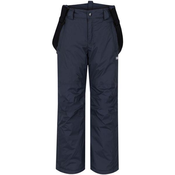 Loap FIDOR tmavo sivá 152 - Detské zimné nohavice