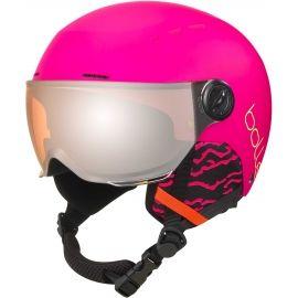 Bolle QUIZ VISOR - Cască ski de copii cu vizieră