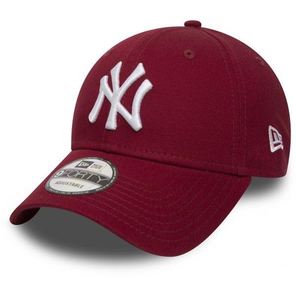 New Era MLB 9FOTRY NEW YORK YANKEES vínová  - Pánská klubová kšiltovka