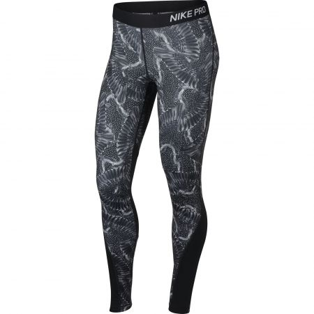 Női legging - Nike TGHT PRT CHAIN FEATHER - 1